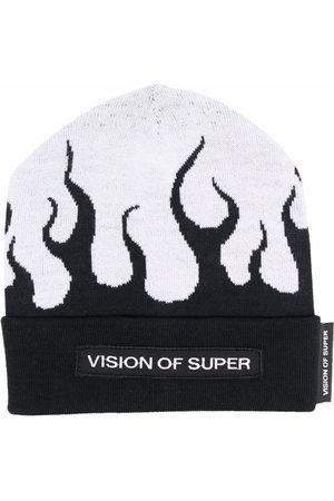 Vision Of Super Flame-print beanie