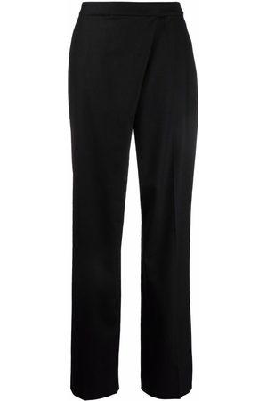 Alberta Ferretti Crossover straight-leg trousers