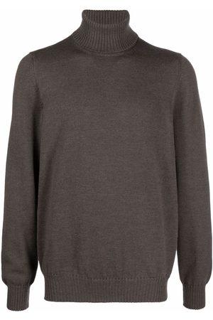 D4.0 Roll neck knitted jumper
