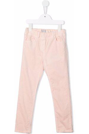 Il Gufo Slim-cut chino trousers