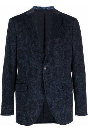 ETRO Embroidered tailored blazer