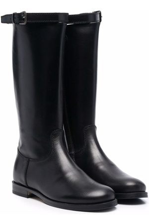 GALLUCCI Polished leather boots