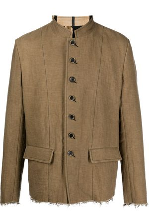 UMA WANG Raw-cut tailored jacket