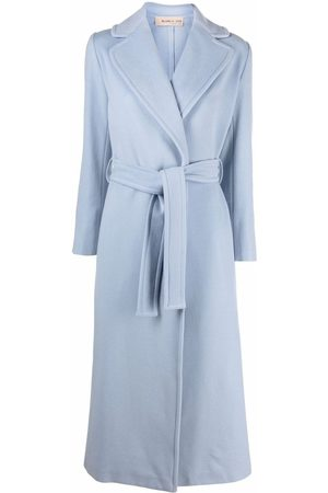 BLANCA Wrap belted overcoat