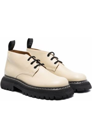 GALLUCCI TEEN chunky-sole leather brogues - Neutrals