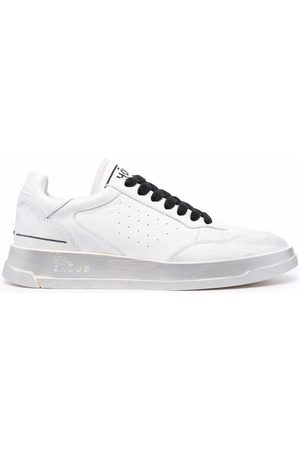 Ghoud Logo-embroidered low-top leather sneakers