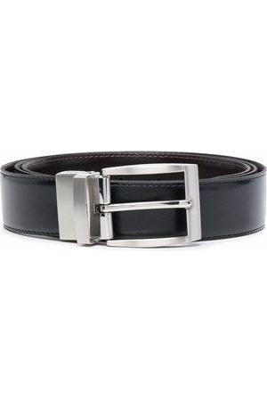 Timberland Logo embossed reversible belt