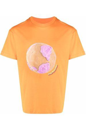Jacquemus Men Short Sleeve - Le Monde short-sleeve T-shirt