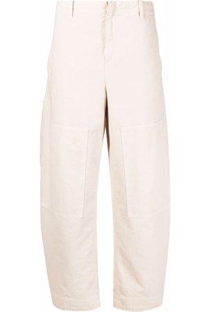Etro Wide-leg chino trousers - Neutrals