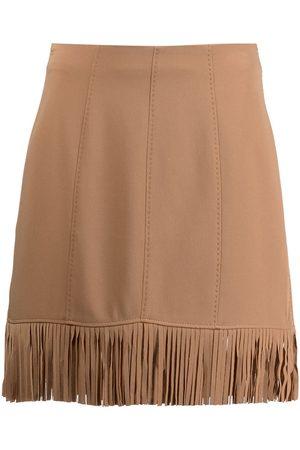 Cinq A Sept Fringed mini skirt