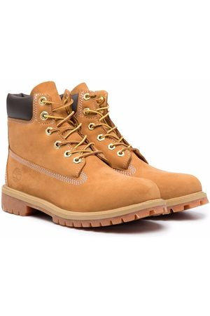 Timberland Kids Boys Ankle Boots - Premium lace-up ankle boots