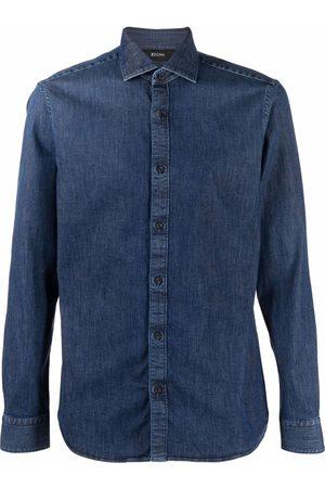 Ermenegildo Zegna XXX Denim button-up shirt