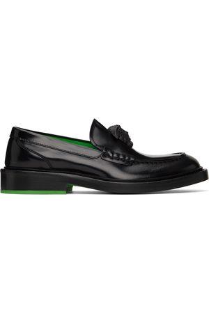 VERSACE Black 'La Medusa' Loafers