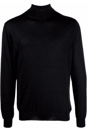 Malo Plain high-neck jumper