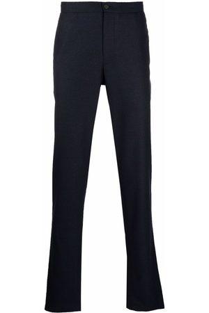 Boglioli Stretch waist wool trousers