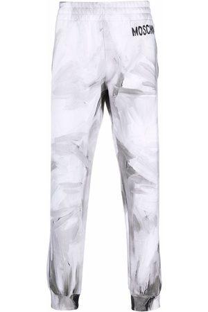 Moschino Logo-print detail track pants