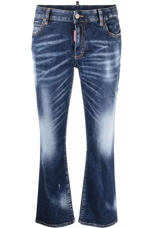 Dsquared2 Distressed flared jeans