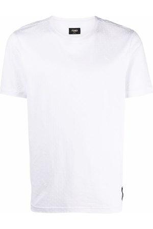 Fendi Polka dot pattern T-shirt