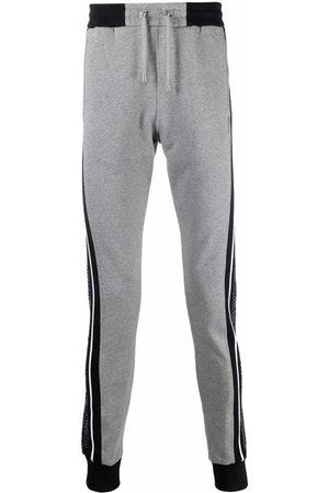 Balmain Men Sweatpants - Side-panel track pants - Grey