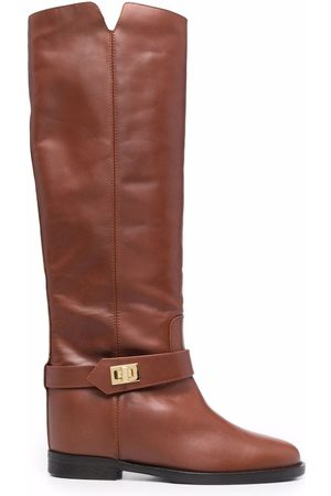 Via Roma 15 Saint Barth knee-high boots