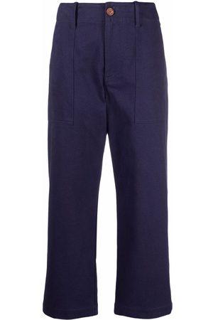 Jejia Cropped straight-leg trousers