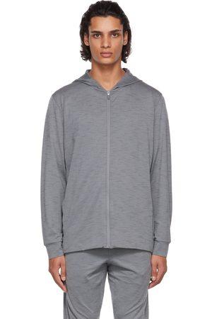 Nike Grey Yoga Dri-FIT Full-Zip Hoodie