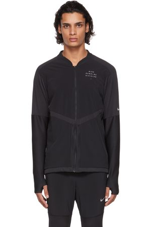 Nike Black Dri-FIT Run Division Running Jacket
