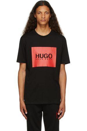 Hugo Men T-shirts - Black Dolive214 T-Shirt