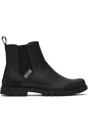 Versace Jeans Couture Black Magnetar Chelsea Boots