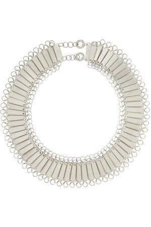 Jil Sander Silver Protection Necklace
