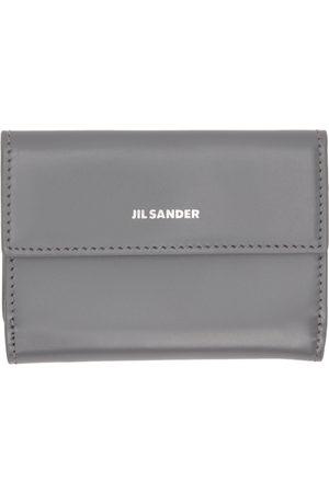 Jil Sander Grey Bifold Baby Wallet