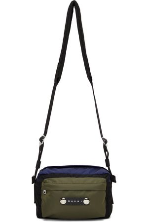 Marni Tricolor Hackney Messenger Bag