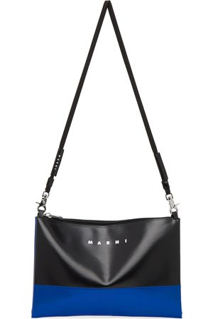 Marni Black & Blue Tribeca Messenger Bag