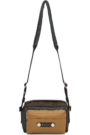 Marni Brown & Khaki Hackney Messenger Bag