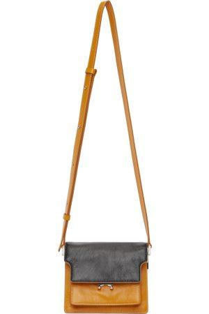 Marni Black & Orange Soft Mini Trunk Bag
