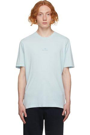 Paul Smith Blue Stack Logo T-Shirt