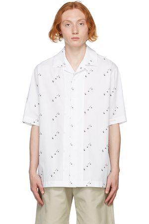 OFF-WHITE Logo Allover Holiday Short Sleeve Shirt