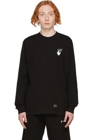 OFF-WHITE Black Caravaggio Arrows Long Sleeve T-Shirt