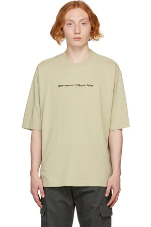 OFF-WHITE Men T-shirts - Beige Collection Name Skate T-Shirt