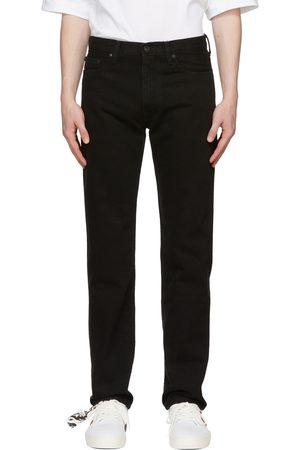 OFF-WHITE Men Slim - Black Diag Pocket Slim Jeans