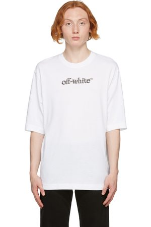 OFF-WHITE White Slanted Logo Skate T-Shirt