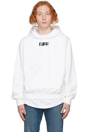 OFF-WHITE White Arrows Font Hoodie