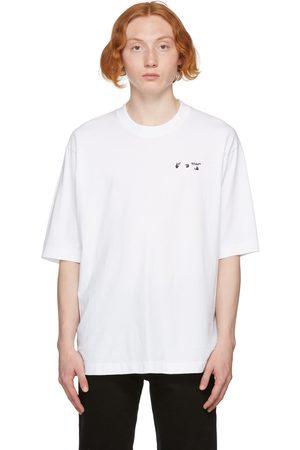 OFF-WHITE Men T-shirts - White Logo Skate T-Shirt