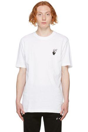 OFF-WHITE Men T-shirts - White Slim Degrade Arrow T-Shirt