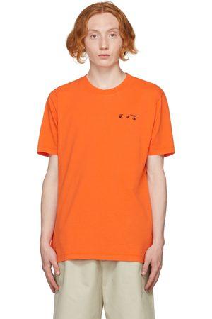 OFF-WHITE Men T-shirts - Orange Logo T-Shirt