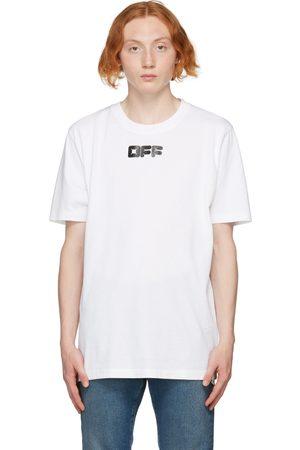 Off-White Men T-shirts - White Arrows Font T-Shirt