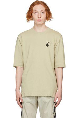 OFF-WHITE Beige Bubble Arrow Skate T-Shirt