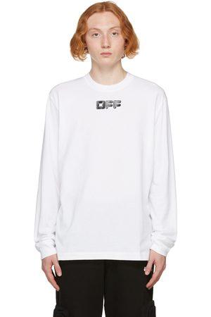 OFF-WHITE White Arrows Font Long Sleeve T-Shirt