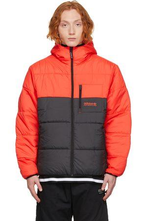 adidas Reversible Red & Black Adventure Puffer jacket