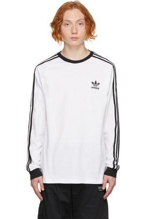 adidas Men Long Sleeve - Adicolor Classics 3-Stripes Long Sleeve T-Shirt